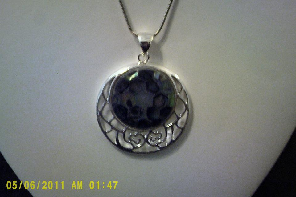 Sterling Silver Necklace Large Photo