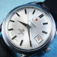 Cool Vintage Titoni Airmaster Rotomatic Swiss watch Photo