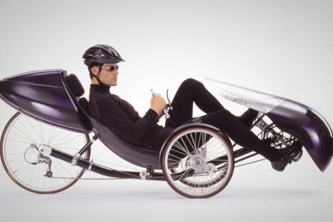 Windcheetah recumbent trike - near new Photo