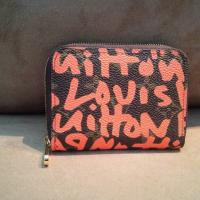 Louis Vuitton Pink/Orange Graffiti wallet Photo