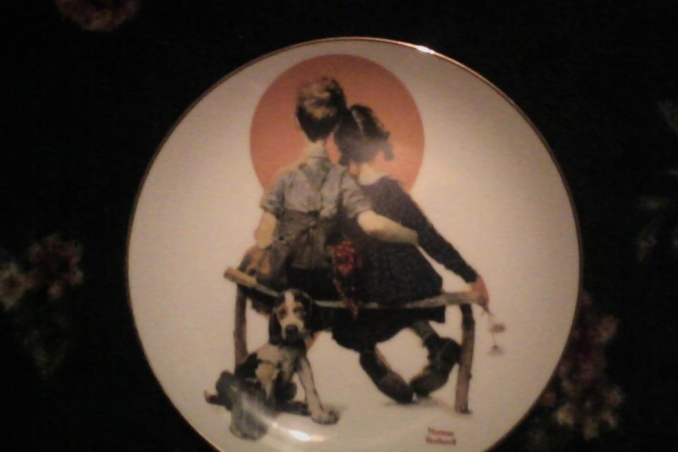 Danbury Mint Norman Rockwell Collector Plate