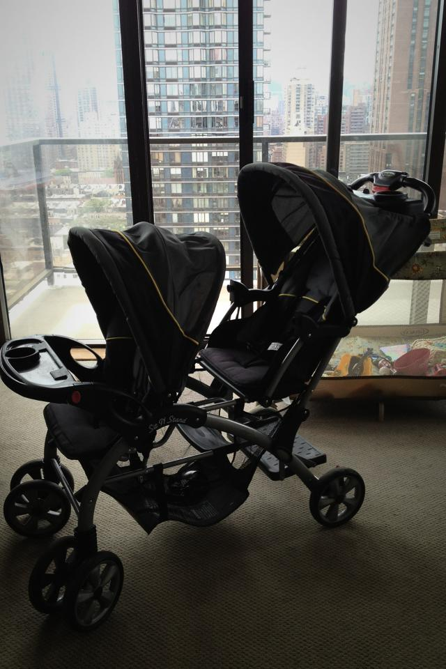 Baby Trend Sit $ Stand Double Stroller Photo