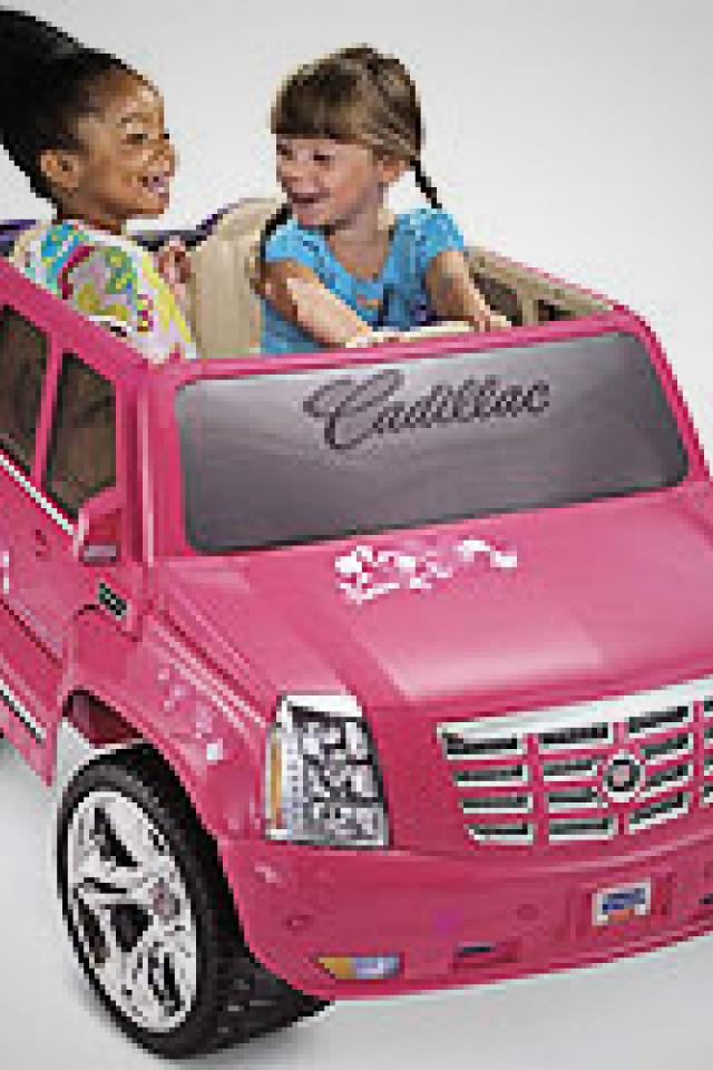 Barbie Cadillac Hybrid Escalade - $300  Photo