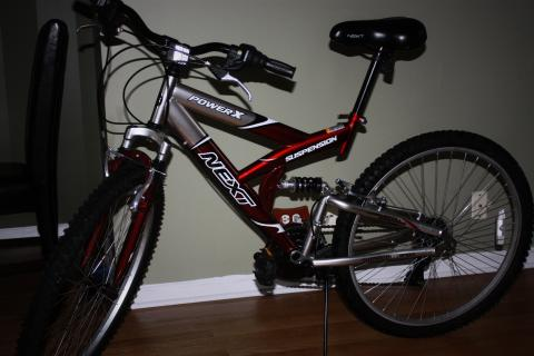 Brand new mountain bike Photo