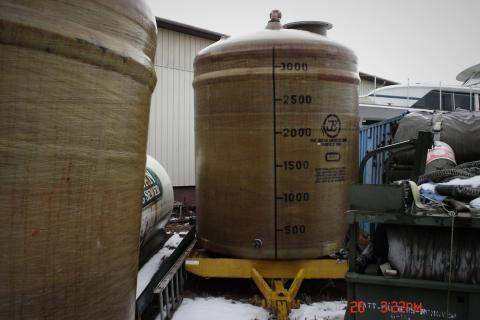 3000 GALLON FIBERGLASS TANKS Photo