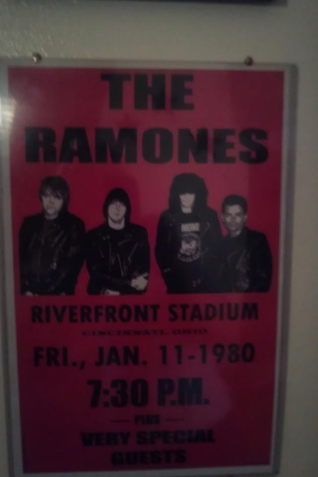 Ramones event posters, set of 2 Large Photo