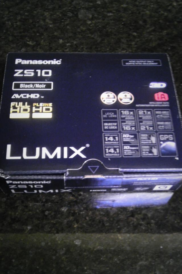 Brand new Panasonic ZS10 LUMIX DIGITAL CAMERA Photo