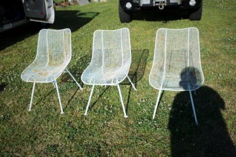 Russell Woodard Sculptura 1950's Retro Patio Chairs Photo