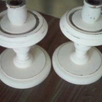 Vintage Candle Holders - Pair Photo