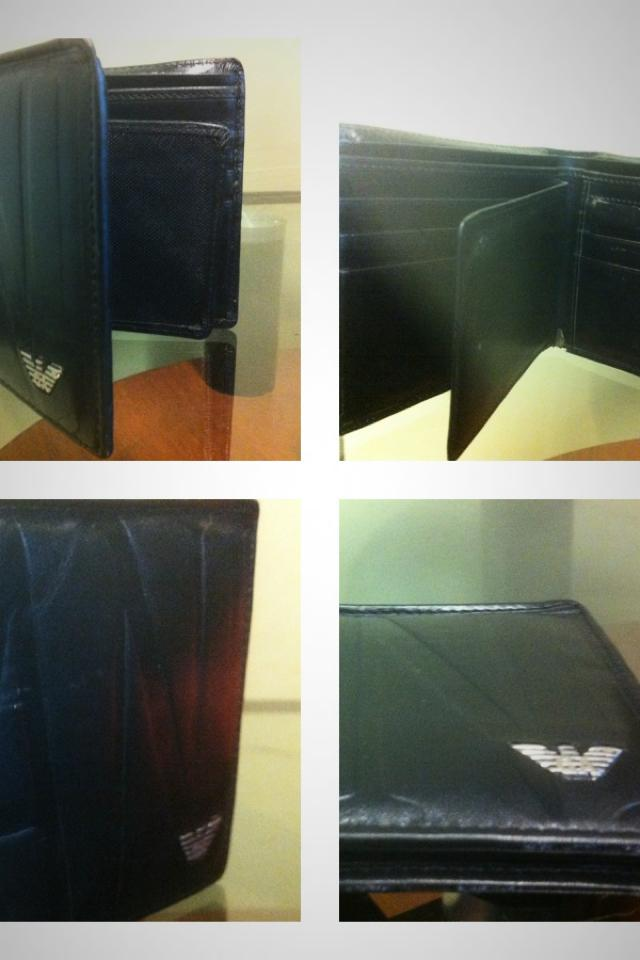 Giorgio Armani leather wallet Photo