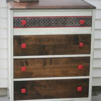 Scandanavian Inspired Solid Wood Dresser Photo