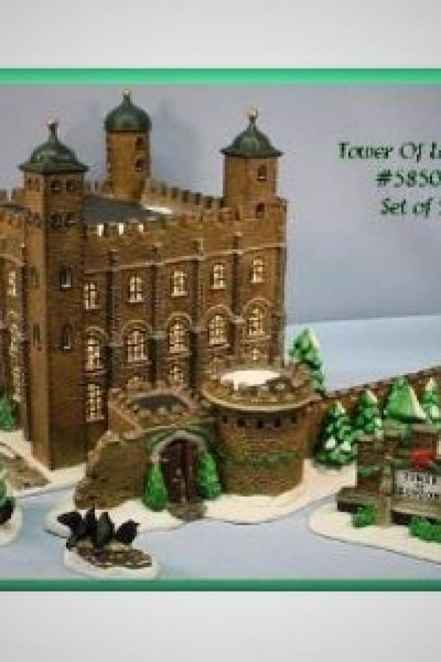 DEPT.56 TOWER OF LONDON Photo
