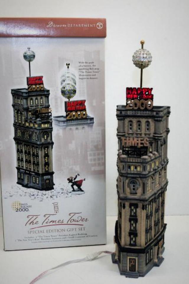 DEPT.56 TIMES TOWER  Photo