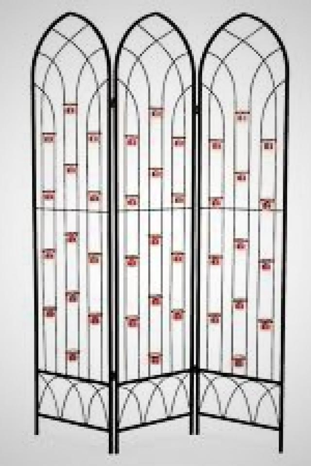 Outdoor 6' Candle Screen With 39 Votive Holders Large Photo