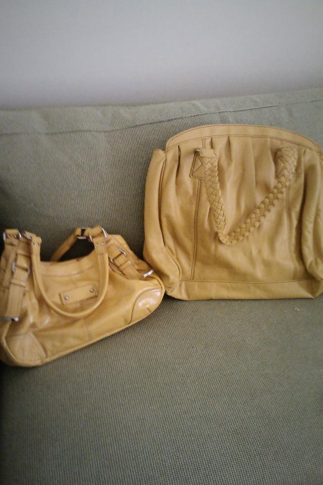 Two Yellow Bags Photo