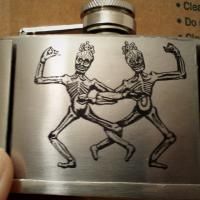 Flask Belt Buckle Photo