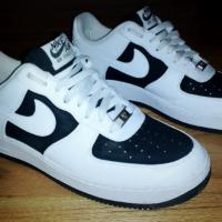 Black and White Nike Air Force 1  Photo