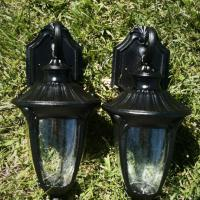 Home Depot Black Outside Exterior Lights Photo
