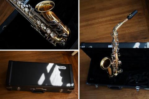 Jupiter Alto Saxophone (mint) Photo
