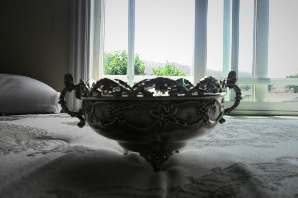Silver Plated Bowl Large Photo