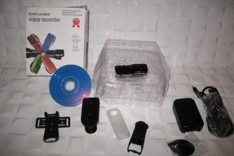 Sound Control Mini DVR Black Photo