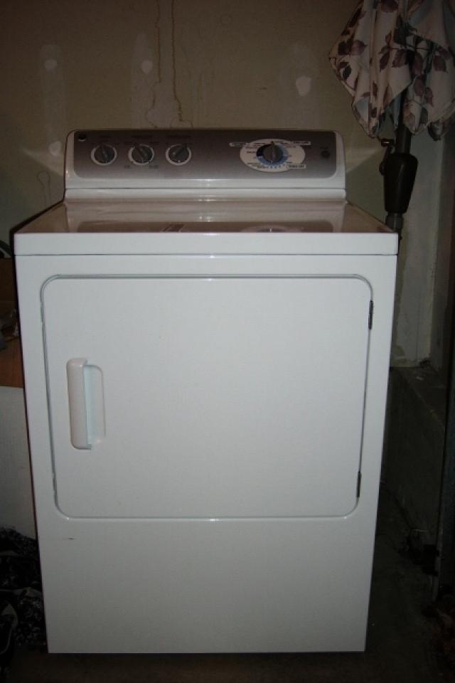 GE Electric Dryer Photo
