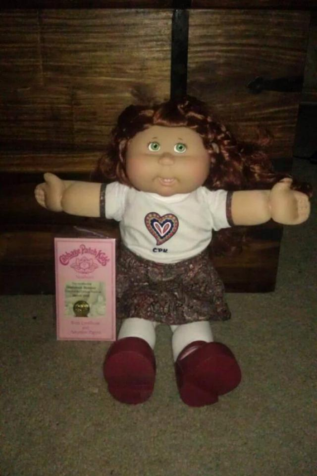 Cabbage Patch Kids dolls (3) Large Photo