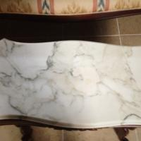 Set of four Marble Living Room Tables Photo