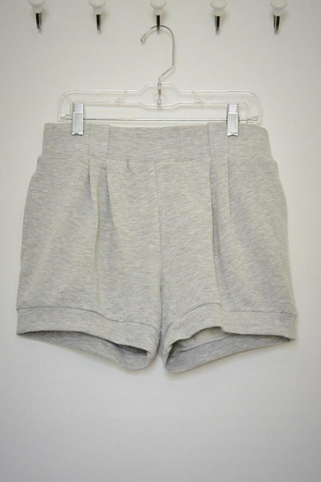 Heather Gray Shorts - Size M Large Photo