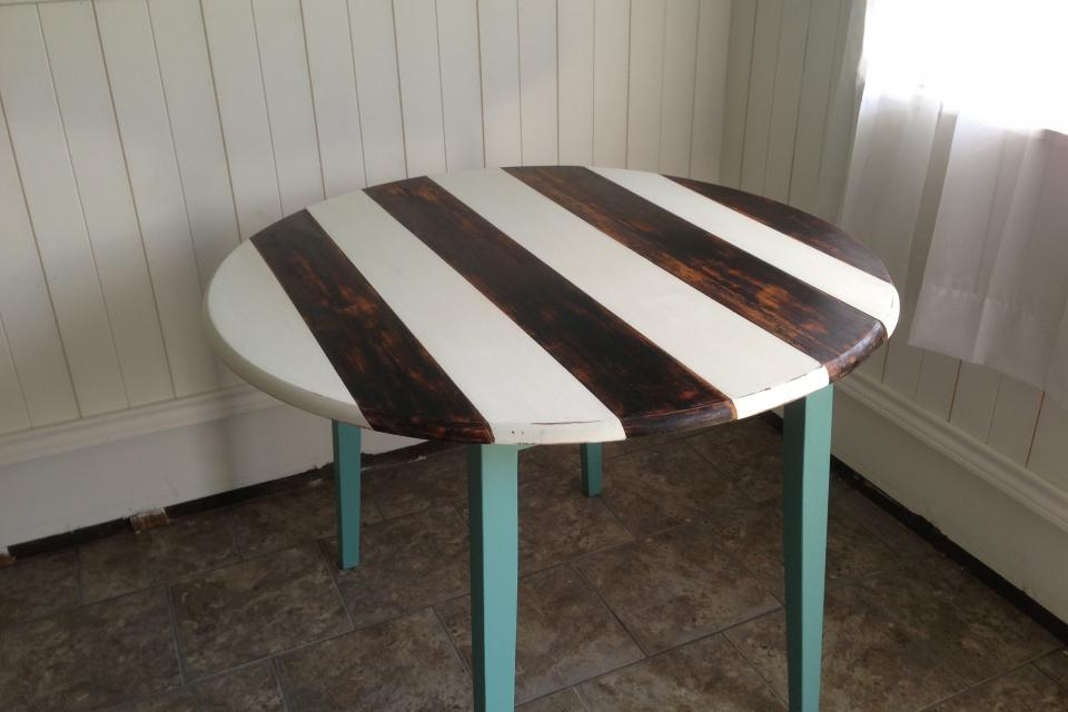dining table distressed grey dining table