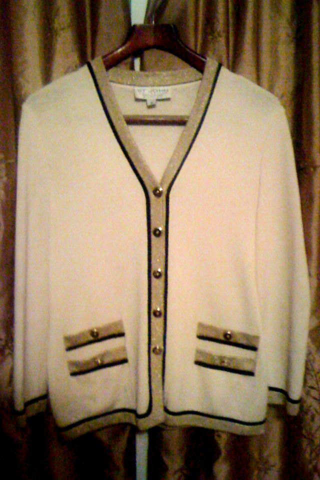 St. John's Collection by Marie Gray Knit Jacket Blazer Photo