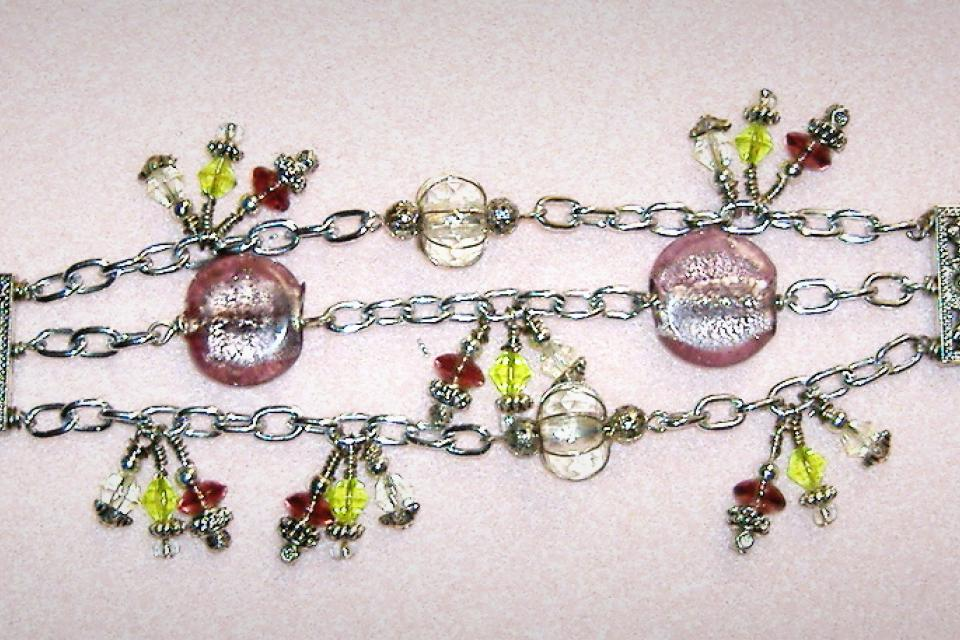 Mermaids Glass bracelet Large Photo