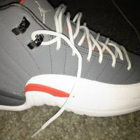Jordan 12's Cool Grey Photo
