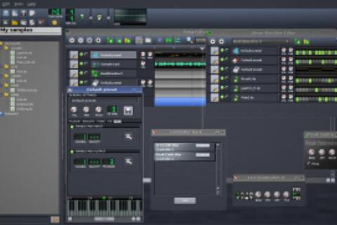 Software for Recording Artists and Music Producers + Drumpad & Sticks  Photo