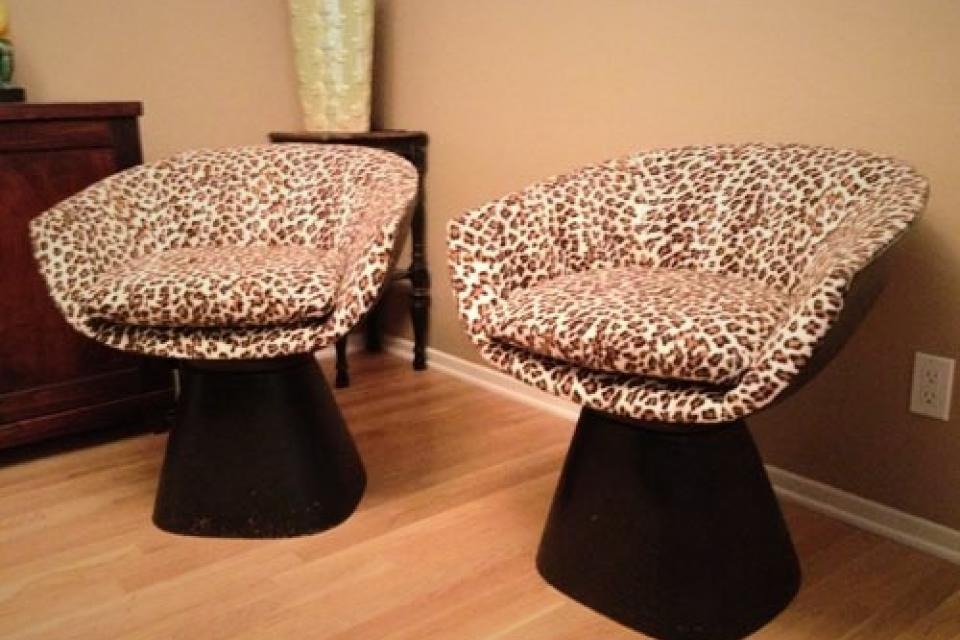 Funky Retro Club Chairs! Large Photo