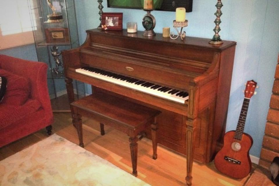 Lowery Upright Piano! Large Photo