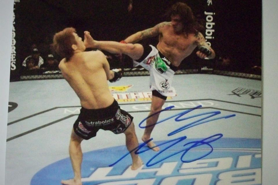 CLAY GUIDA SIGNED 8x10 PHOTOS...PICK WHICH YOU WANT 3 DIFFRENT AVAILABLE Large Photo