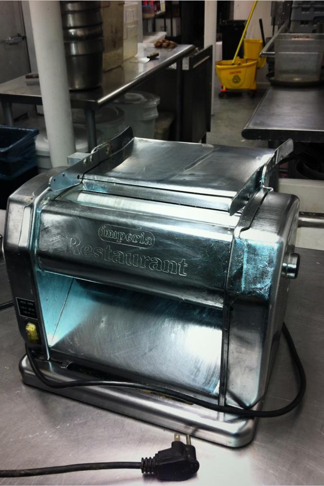 Imperia electric pasta machine Photo