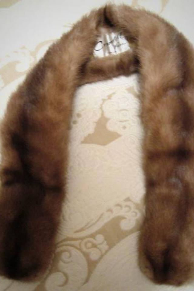 MINK SCARF & MINK COLLAR (2 pcs.) Large Photo