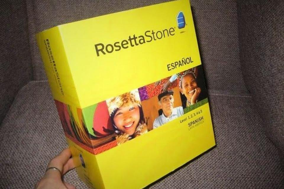 Rosetta Stone Spanish Latin Amercica Level 1-5 Version 3 Large Photo