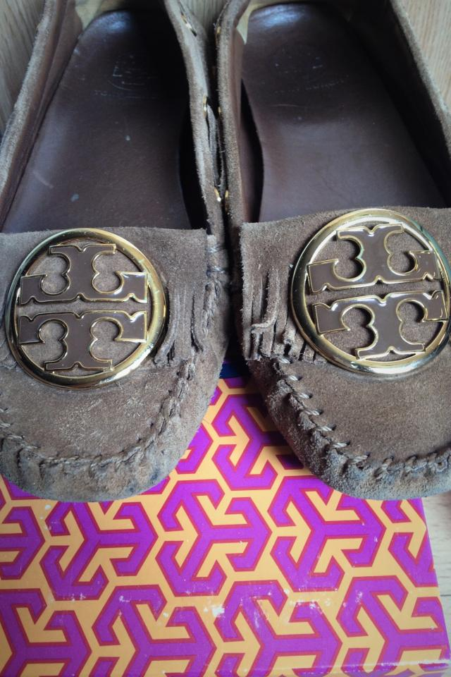 Tory Burch Moccasins, Size 9 Large Photo