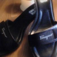 100% real Ferragamo Black shoes, sandals Photo