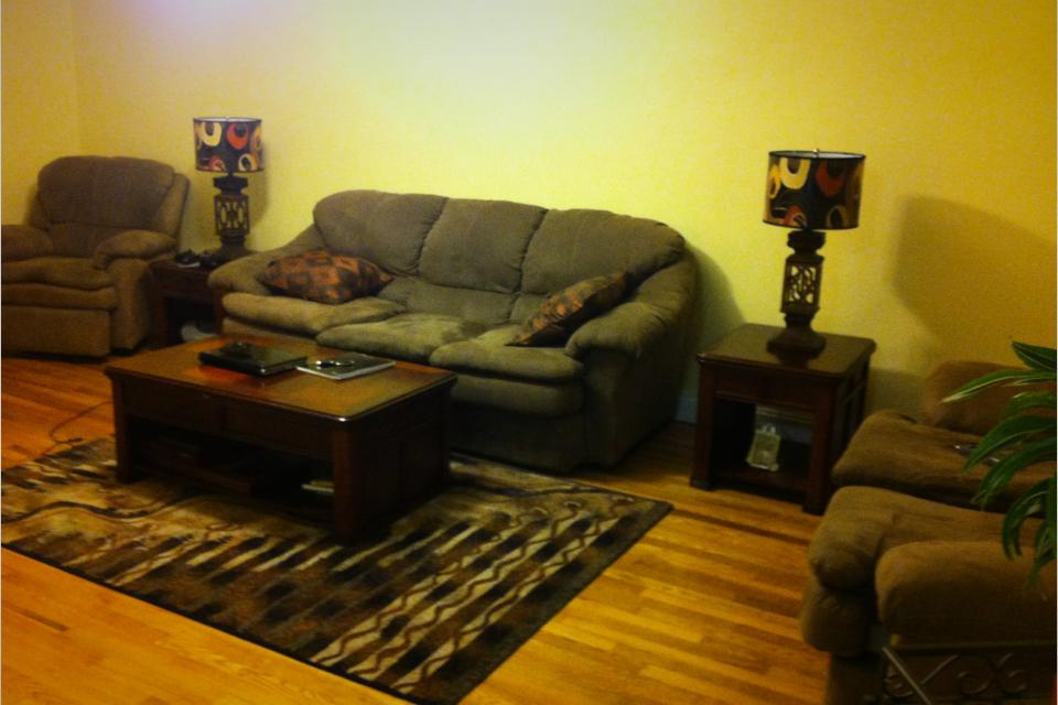 Set:sofa bed, love seat and recliner Large Photo