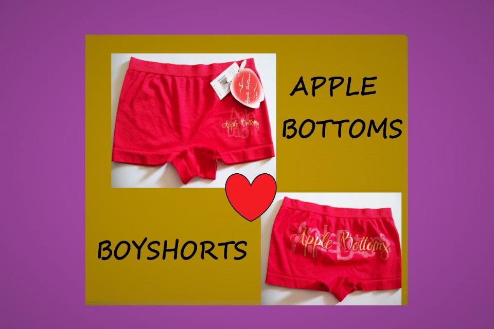Womens Small Apple Bottoms Lingerie Panties Underwear NWT Large Photo