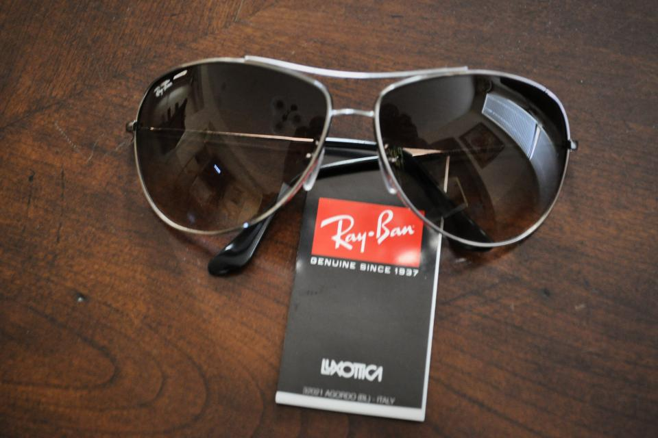 Ray Ban Aviator Sunglasses Large Photo