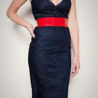 D&G Jean Dress Photo