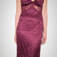 D&G Lace Burgundy Dress Photo