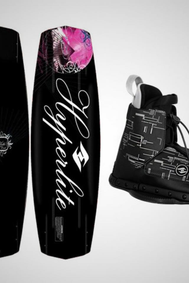 Women's 2012 Wakeboard Package- Hyperlite Mystique 134 & Destroyer Bindings Photo