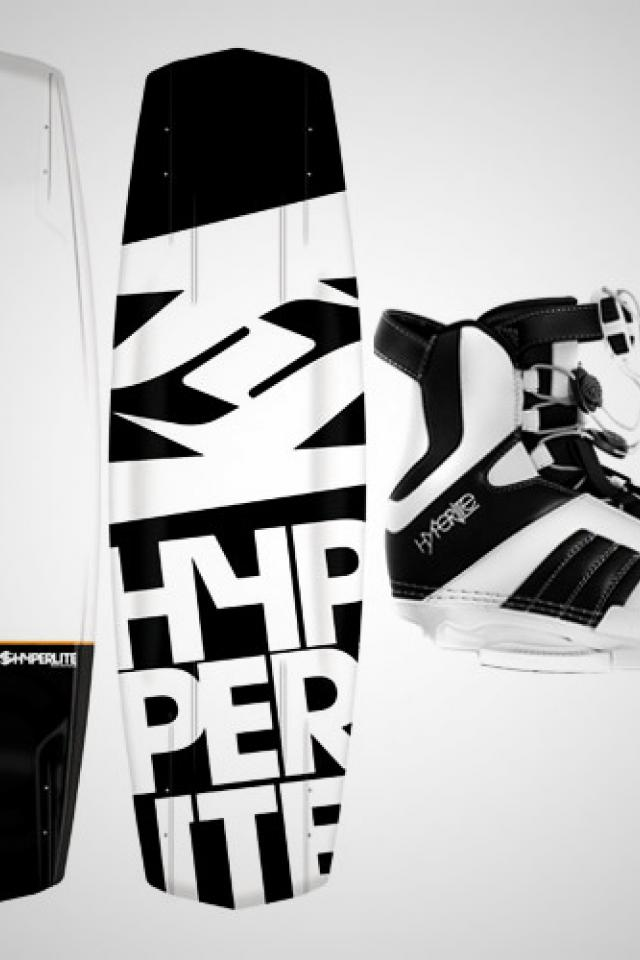 2012 Wakeboard Package- Hyperlite Agent 134 Large Photo