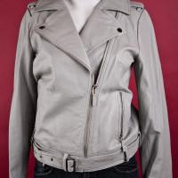 Rachel Zoe Leather Motorcycle Jacket  Photo
